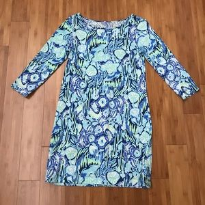 Lilly Pulitzer Marlowe Dress Sunset Swim Small
